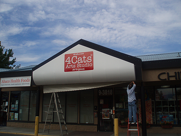 Commercial Signage from Okanagan Awning & Sign