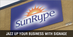 Jazz up your business with signage
